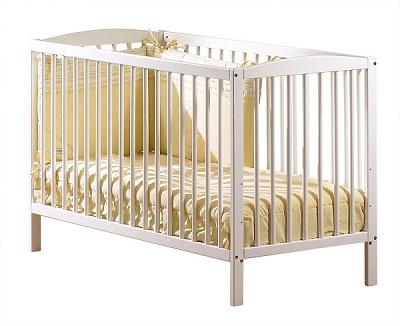 lit bébé pas cher à barreaux simple