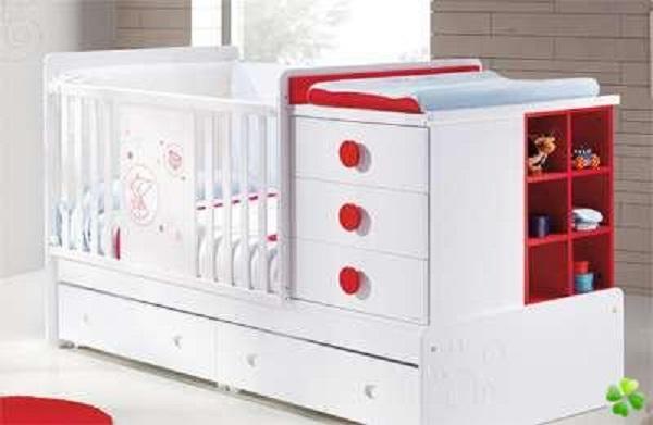 lit bébé pas cher avec tiroir
