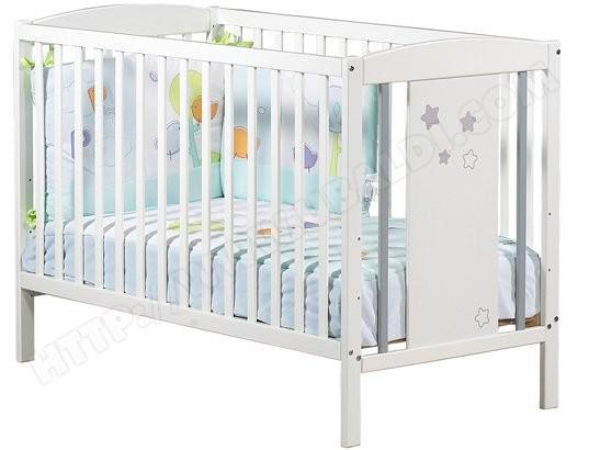 lit bébé pas cher avec matelas