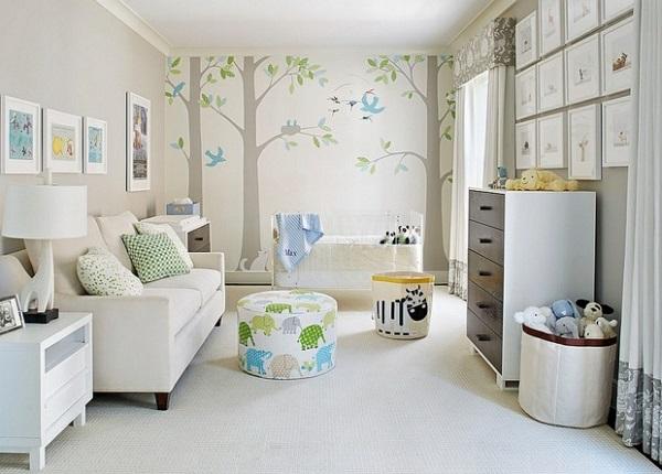 belle chambre bien organiser autour de bébé