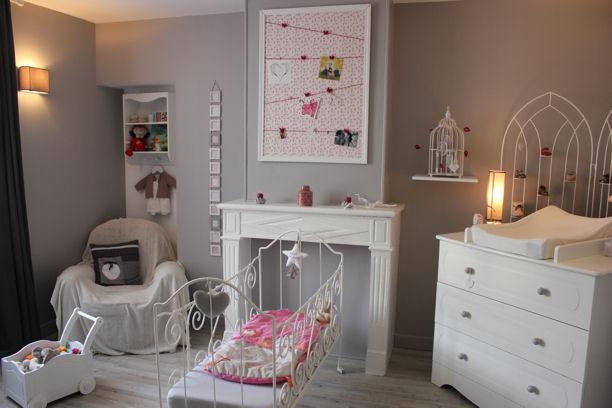Bien organiser la chambre autour de b b mon lit b b - Comment decorer la chambre de bebe ...