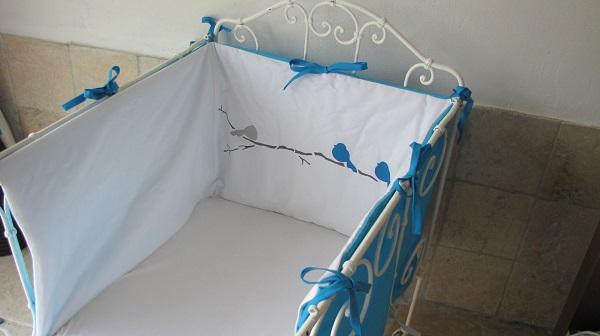 tour de lit bébé pas cher coton
