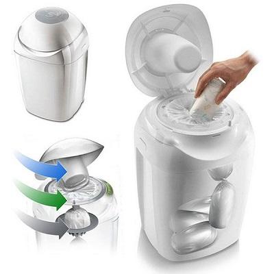 les différents types de poubelles à couches