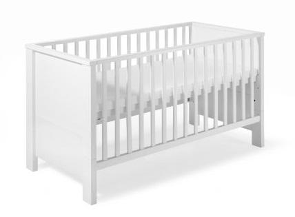 schardt lit bebe blanc lit d'enfant combine milano blanc